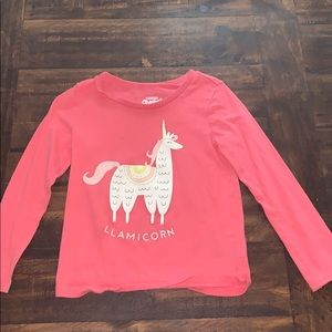 Toddler long sleeve graphic tee